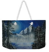 Calmness Under Moon Weekender Tote Bag
