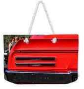 Firebird Tail Light Weekender Tote Bag