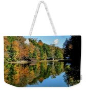 Camp Blanton Autumns Reflection Weekender Tote Bag