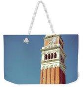 Campanile In Venice Weekender Tote Bag