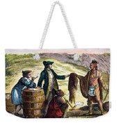 Canada: Fur Traders, 1777 Weekender Tote Bag