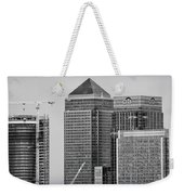 Canary Wharf London Weekender Tote Bag