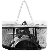 Captain Eddie Rickenbacker  Weekender Tote Bag by War Is Hell Store