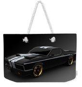 Car Weekender Tote Bag