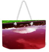 Car Reflection 4 Weekender Tote Bag