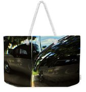 Car Reflection 8 Weekender Tote Bag