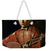 Caravaggio: Luteplayer Weekender Tote Bag by Granger
