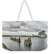 Cardiff Bay Panorama Weekender Tote Bag