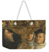 Cardinal Bessarion With The Bessarion Reliquary Weekender Tote Bag