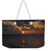 Caribbean Early Sunrise Weekender Tote Bag