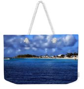 Caribbean Sea And Beach Weekender Tote Bag