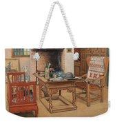 Carl Larsson - Peek-a-boo 1901 Weekender Tote Bag