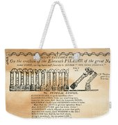 Cartoon: Constitution Weekender Tote Bag