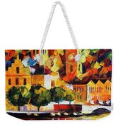 Castle By The River Weekender Tote Bag