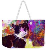 Cat Feline Pet Animal Cute  Weekender Tote Bag