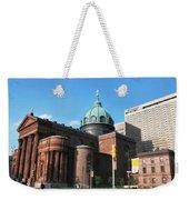 Cathedral Basilica Of Saints Peter And Paul Philadelphia Weekender Tote Bag