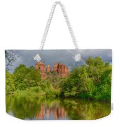 Cathedral Rock Rainbow Weekender Tote Bag