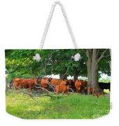 Cattle Herd Weekender Tote Bag