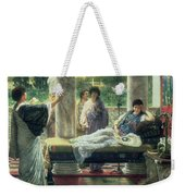 Catullus Reading His Poems Weekender Tote Bag