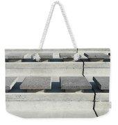 Cement Seats Weekender Tote Bag