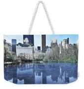 Central Park In New York City Weekender Tote Bag