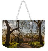 Central Park Nyc Weekender Tote Bag