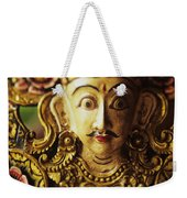 Ceremonial Mask Weekender Tote Bag