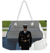 Changing Of Guard At Arlington National Weekender Tote Bag by Terry Moore