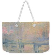 Charing Cross Bridge Weekender Tote Bag by Claude Monet
