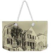 Charleston Style Houses Weekender Tote Bag