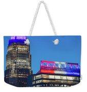 Charlotte North Carolina Skyline City View Weekender Tote Bag