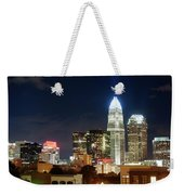Charlotte Skylilne At Night Weekender Tote Bag