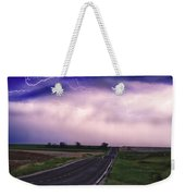 Chasing The Storm - County Rd 95 And Highway 52 - Colorado Weekender Tote Bag
