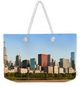 Chicago Downtown At Sunrise Weekender Tote Bag
