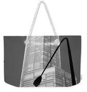 Chicago Skyscraper Weekender Tote Bag