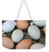 Chicken Eggs Weekender Tote Bag