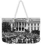Chief Justice Fred Vinson Weekender Tote Bag