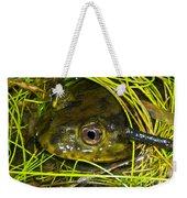Chilean Widemouth Frog Weekender Tote Bag