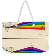 Chinese Illustration Showing Two Weekender Tote Bag