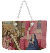 Christ Appearing To The Virgin Weekender Tote Bag