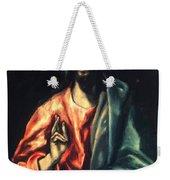 Christ As Saviour Weekender Tote Bag
