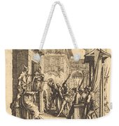 Christ Before Caiaphas Weekender Tote Bag