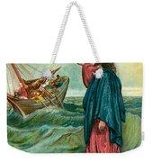 Christ Walking On The Sea Weekender Tote Bag
