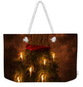 Christmas Candles Weekender Tote Bag