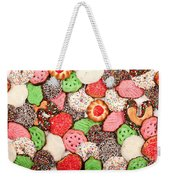 Christmas Cookies Weekender Tote Bag