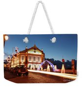 Christmas In Ribeira Grande Weekender Tote Bag