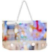 Christmas Lights Weekender Tote Bag