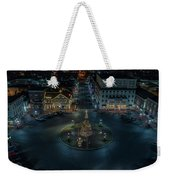 Christmas Lights, Looking North Weekender Tote Bag