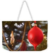 Christmas Tree Decorations Weekender Tote Bag