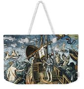 Christopher Columbus Weekender Tote Bag